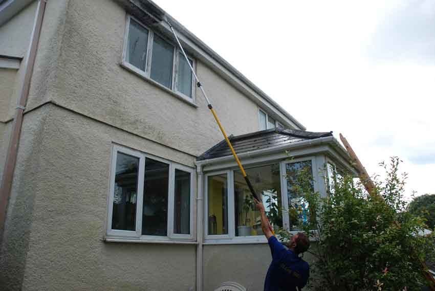 Pressure washing Plymouth-area